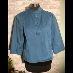 Cold water Creek Jacket Teal Size 14